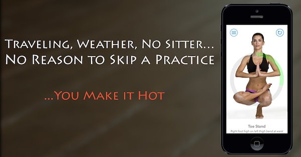 Hot Yoga Timer - Best Hot Yoga app for timed poses and postures perfect for Hatha, Hot and Bikram Yoga with Voice cues